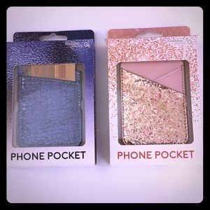 Phone pockets!